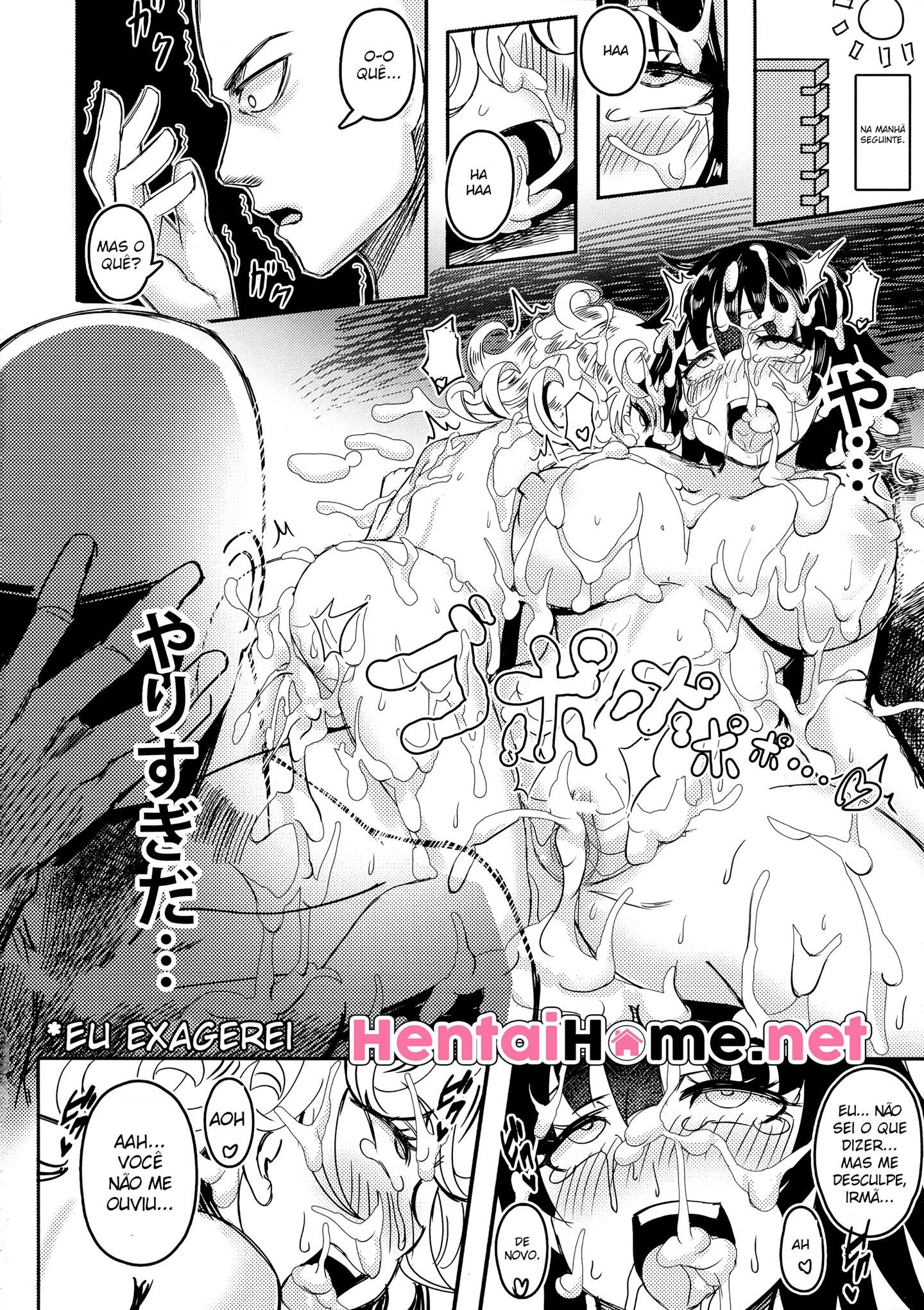 Fantasias eróticas do Saitama - Foto 23
