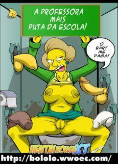 Marge fodendo como uma puta