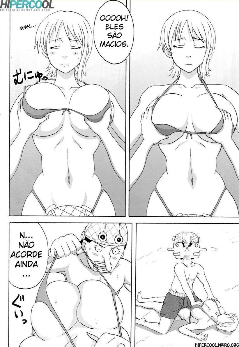 Nami paga Usopp com sexo - Foto 7