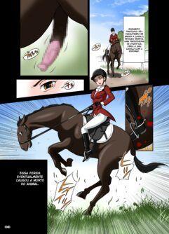 Professora com pênis de cavalo