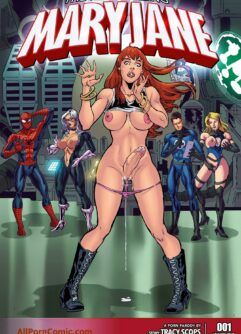 HQ de sexo Mary Jane Futanari