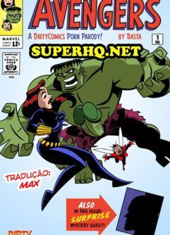 Hulk fode Natasha em HQ Erótico