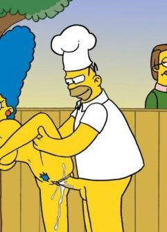 O churrasco de sexo do Simpsons