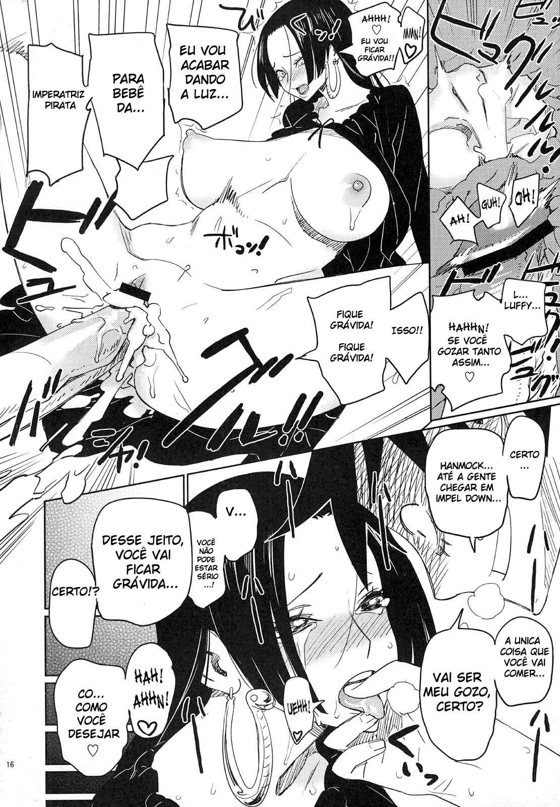 Luffy pede Boa Hancock em casamento - Foto 14