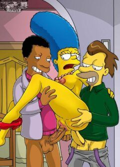 Marge à mamãe puta dos Simpsons
