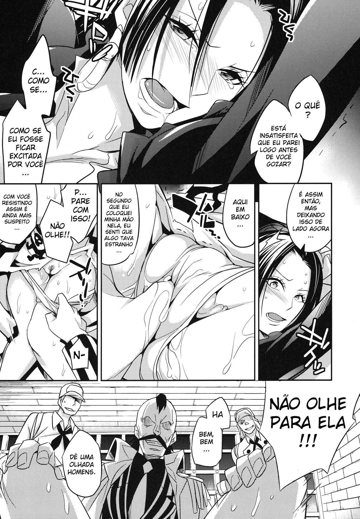 One Piece Pornô: Boa Hancock Gozando - Foto 10