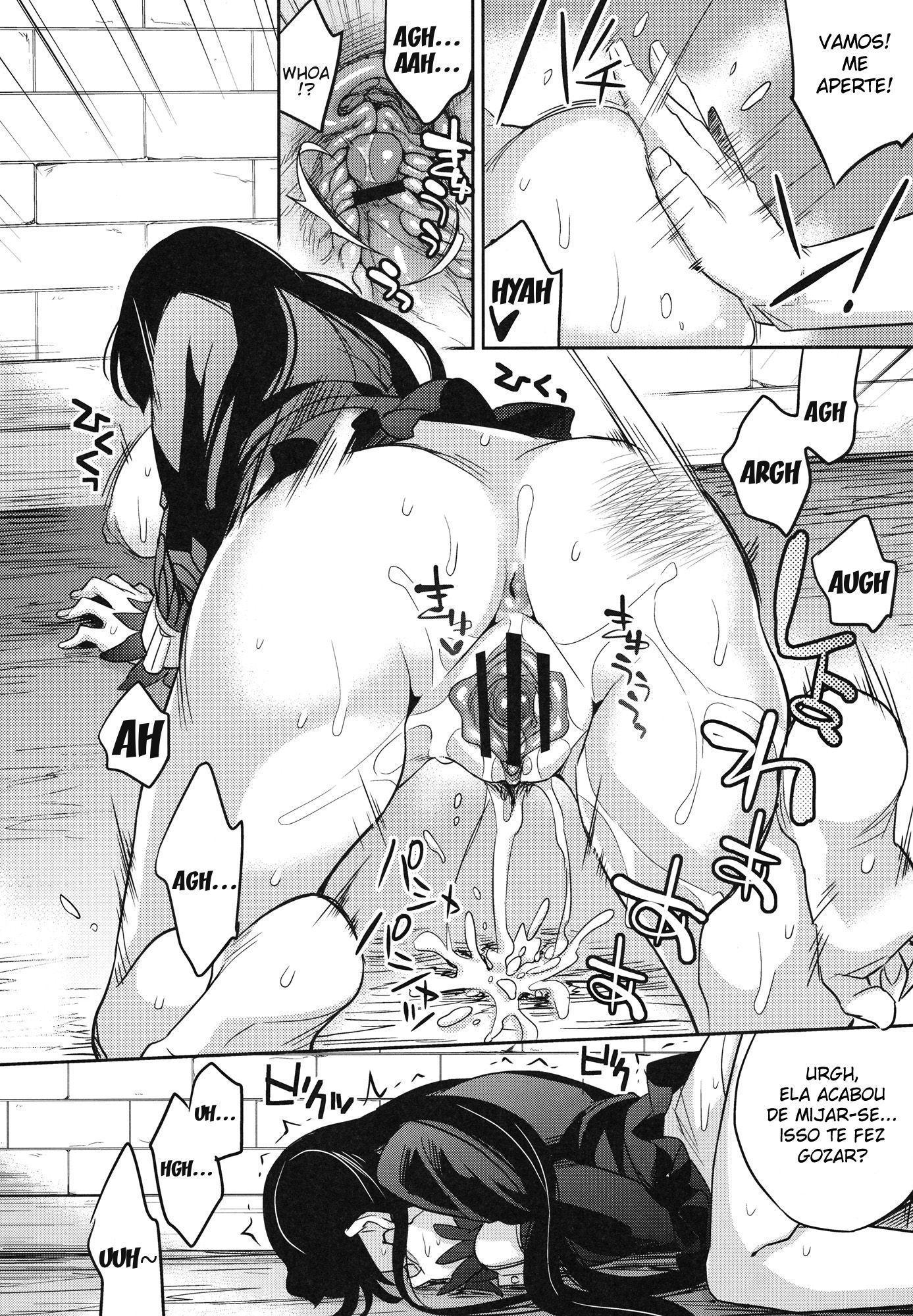 One Piece Pornô: Boa Hancock Gozando - Foto 19