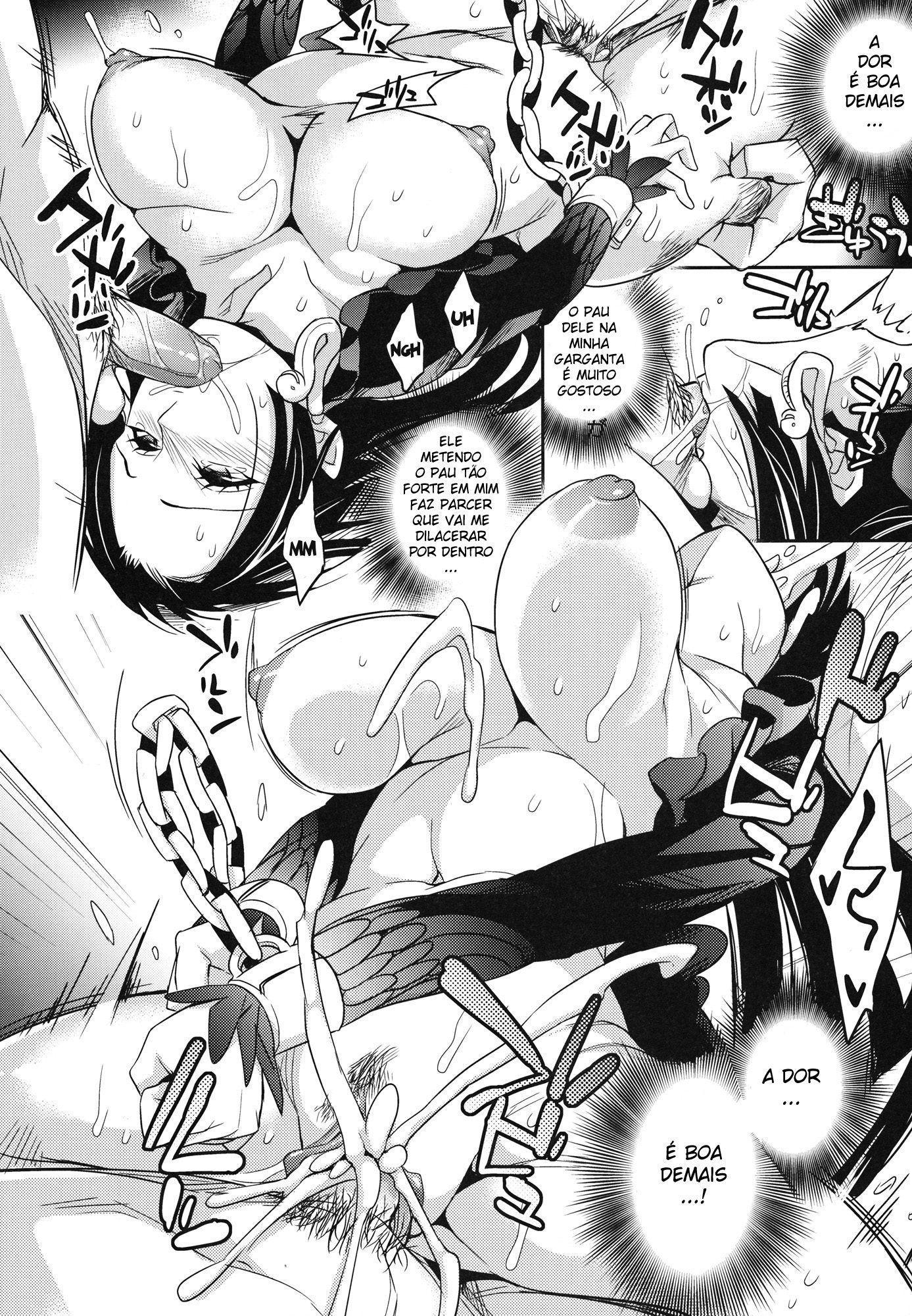 One Piece Pornô: Boa Hancock Gozando - Foto 21