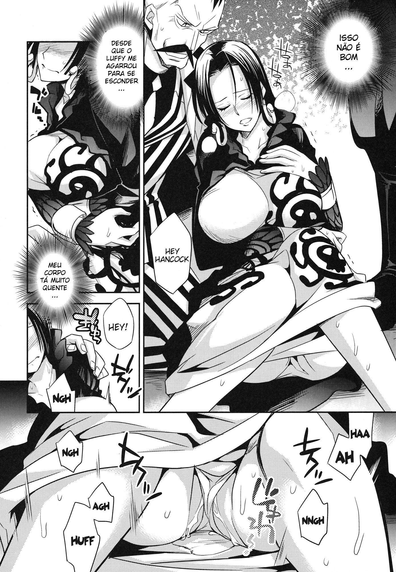 One Piece Pornô: Boa Hancock Gozando - Foto 3