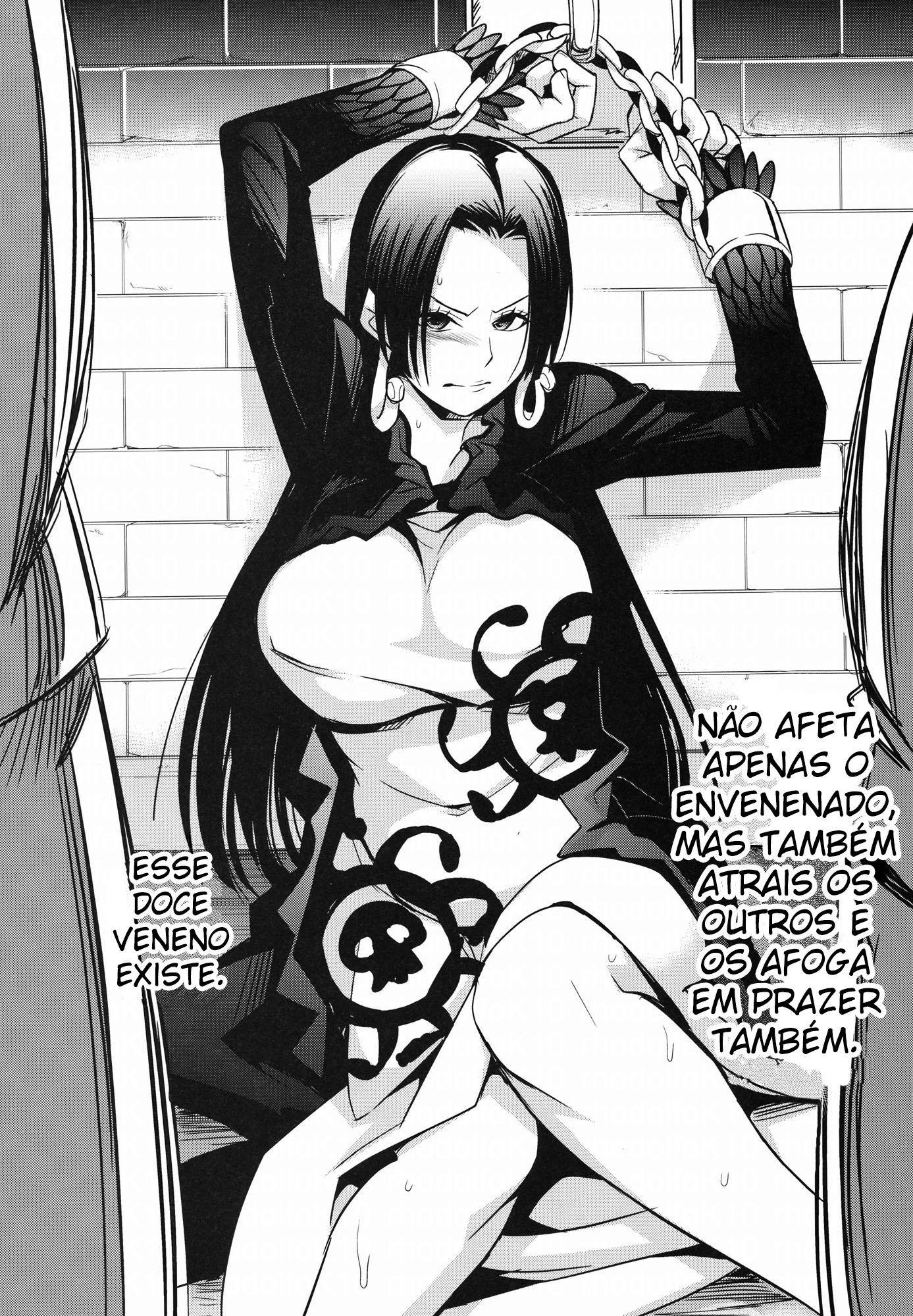 One Piece Pornô: Boa Hancock Gozando - Foto 5