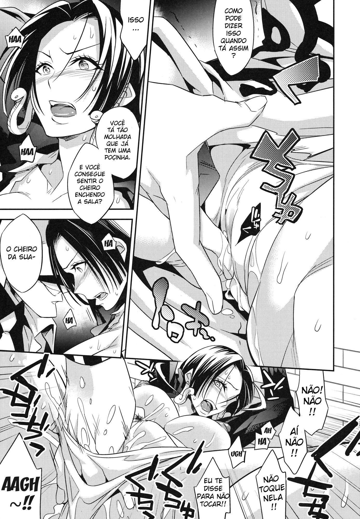 One Piece Pornô: Boa Hancock Gozando - Foto 8