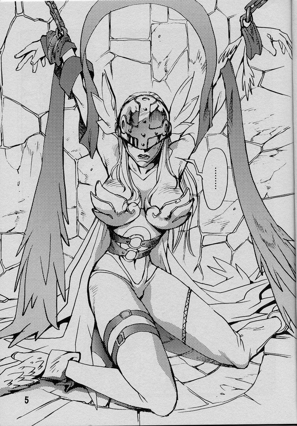 Angewomon à bela anjo caído hentai - Foto 4