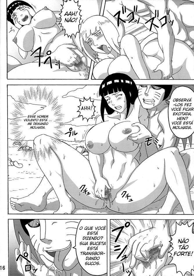 Peitões estuprados de Naruto - Foto 17