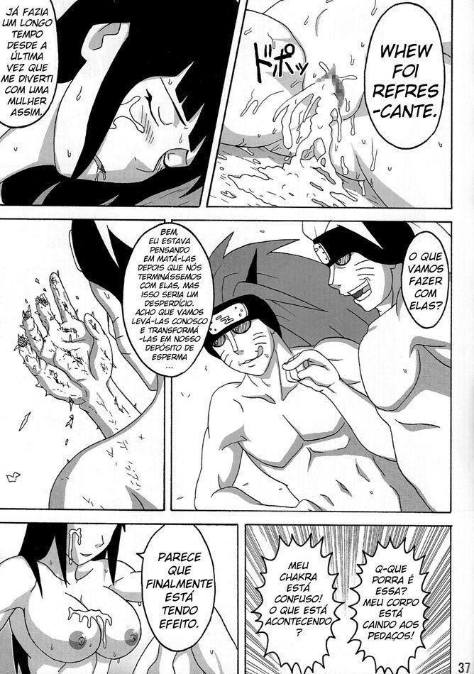 Peitões estuprados de Naruto - Foto 38