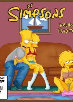 Bart visitas às irmãs