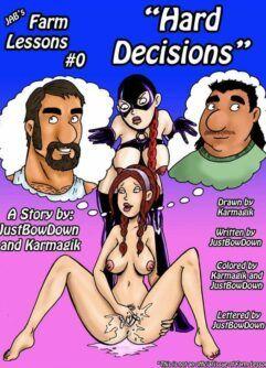 Quadrinhos pornô: Putaria na fazenda