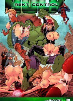 Hulk arromba buceta das heroínas
