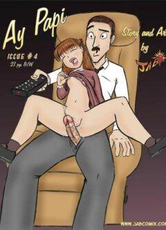 Quadrinhos de sexo: Ay Papi 04