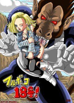 Androide 18: Escrava do príncipe Saiyajin