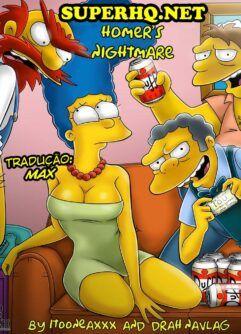 Pesadelo corno de Homer