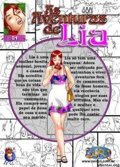 Quadrinhos de sexo: As aventuras de Lia