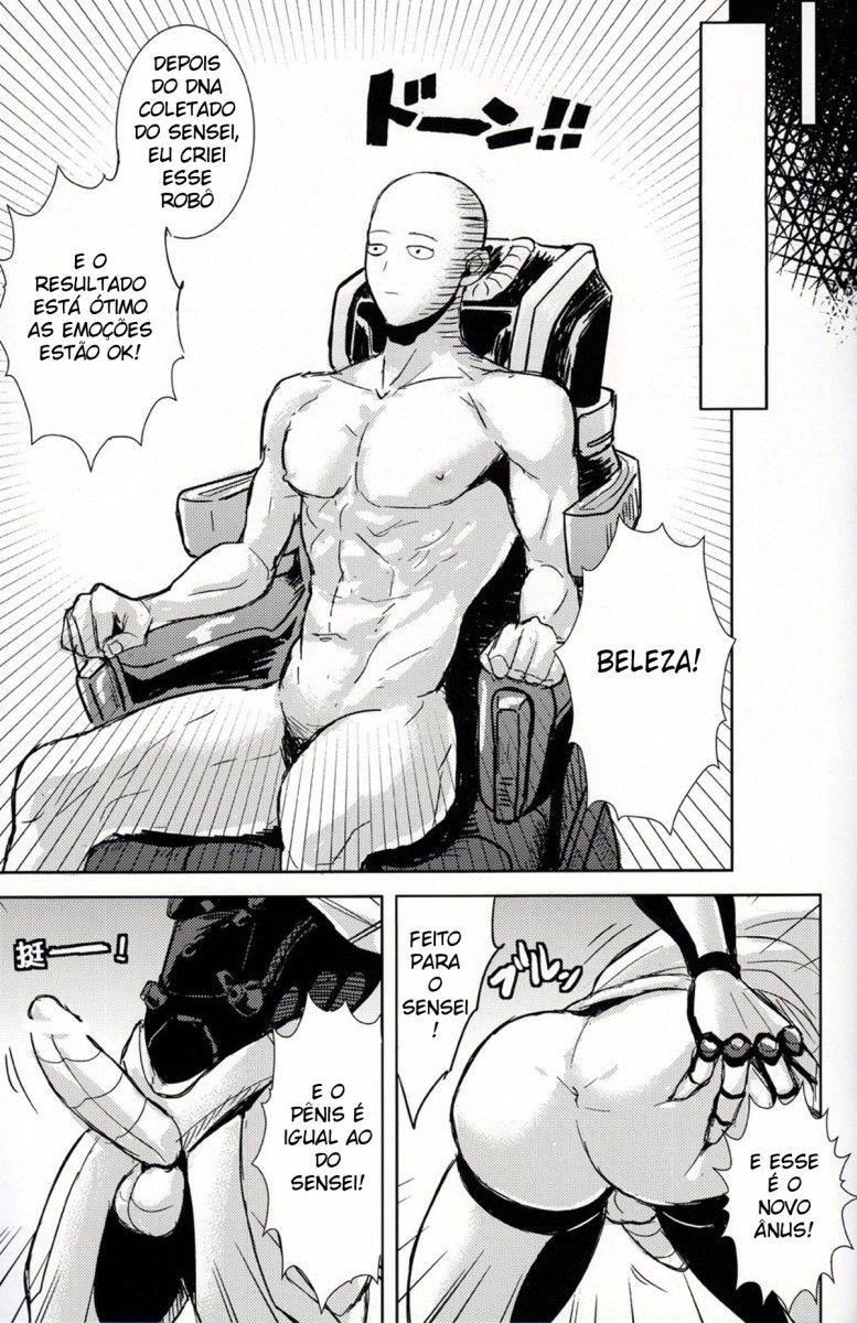 Uma relação de homens com Saitama - Foto 22