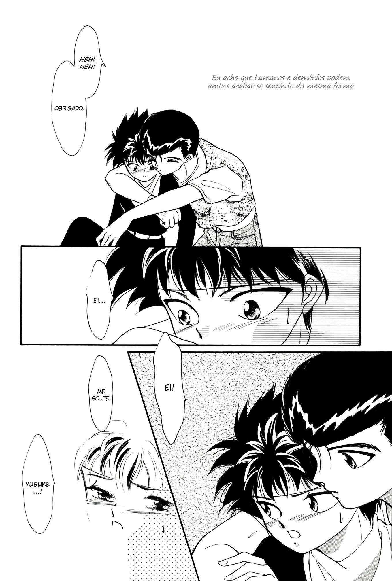 Yu Yu Hakusho Hentai: Amor entre rivais - Foto 12