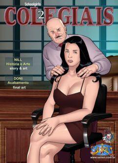 Colegiais 02: Sexo anal com mãe de bolsista