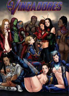 Vingadores quadrinhos de sexo