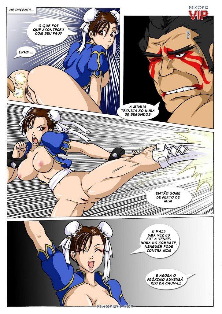 A força da buceta de Chun-Li - Foto 5