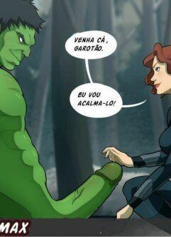 Acalmando o pauzão de Hulk