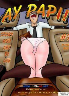 Quadrinhos de sexo: Ay Papi 07
