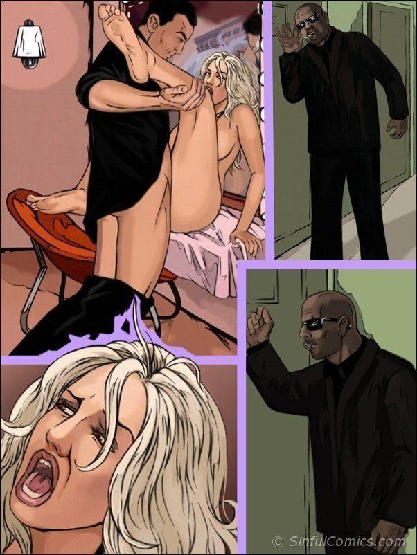 Desenhos pornô de Britney Spears - Foto 11
