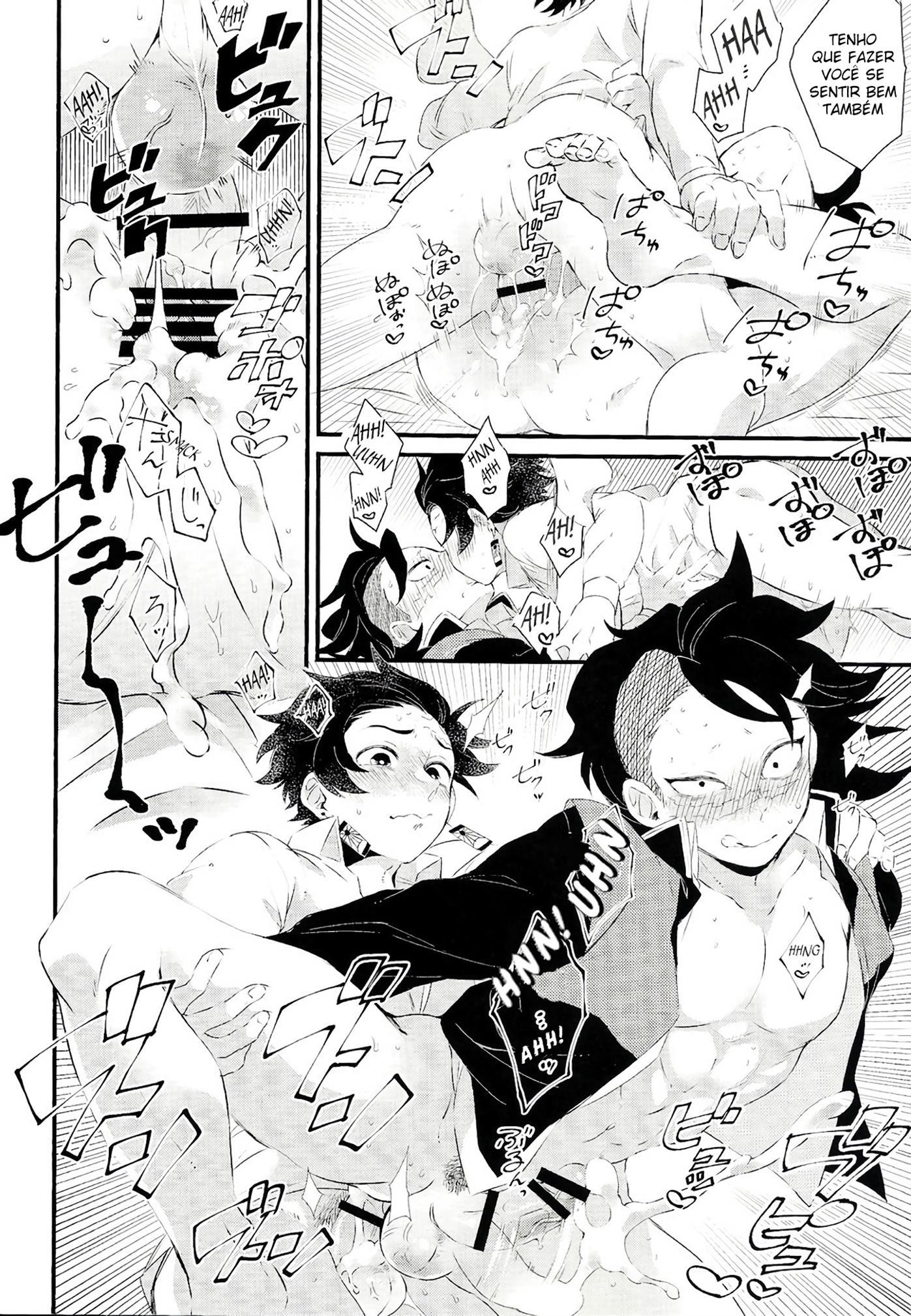 Doujinshi Hentai Gay Demon Slayer - Foto 15