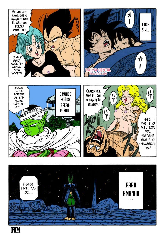 Dragon Ball Pornô: Sexo antes do fim - Foto 19