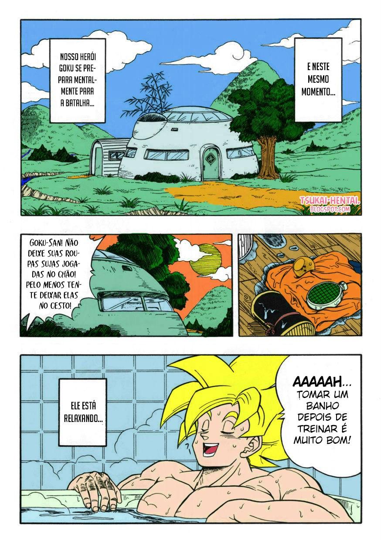 Dragon Ball Pornô: Sexo antes do fim - Foto 3
