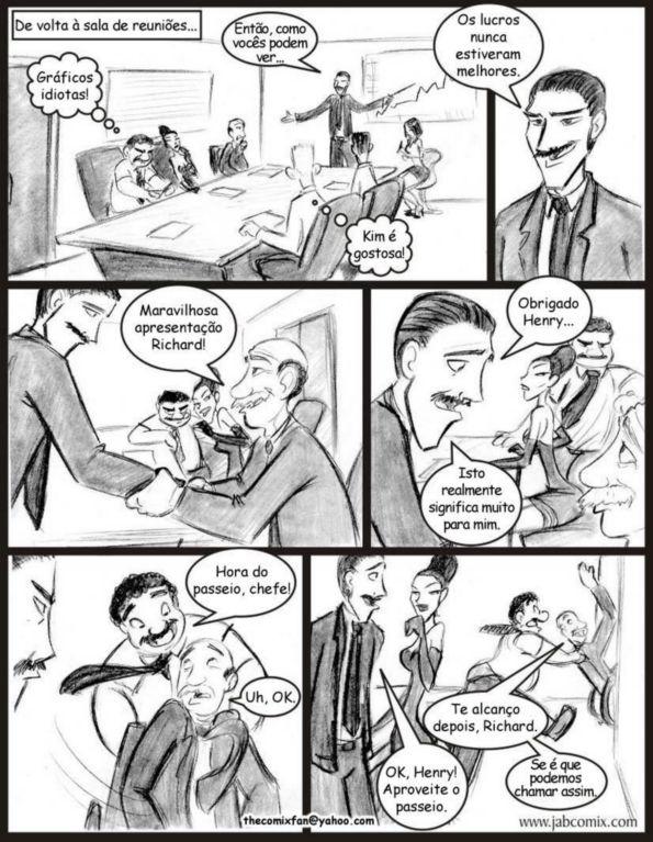 Quadrinhos de sexo: Ay Papi 08 - Foto 14