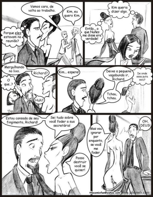 Quadrinhos de sexo: Ay Papi 08 - Foto 15