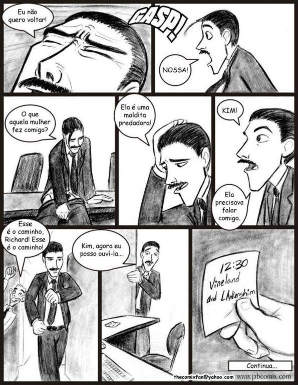 Quadrinhos de sexo: Ay Papi 08 - Foto 22