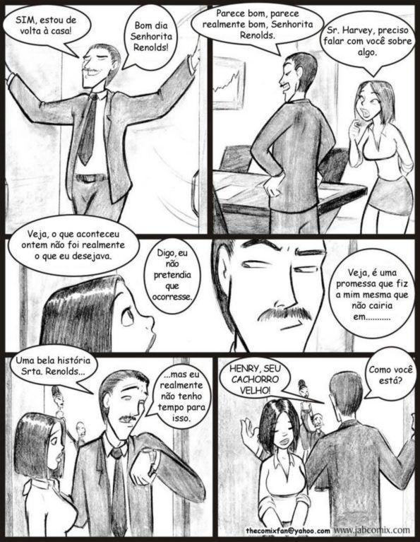 Quadrinhos de sexo: Ay Papi 08 - Foto 9