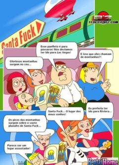 Um dia de sexo com à Family Guy e Jetsons