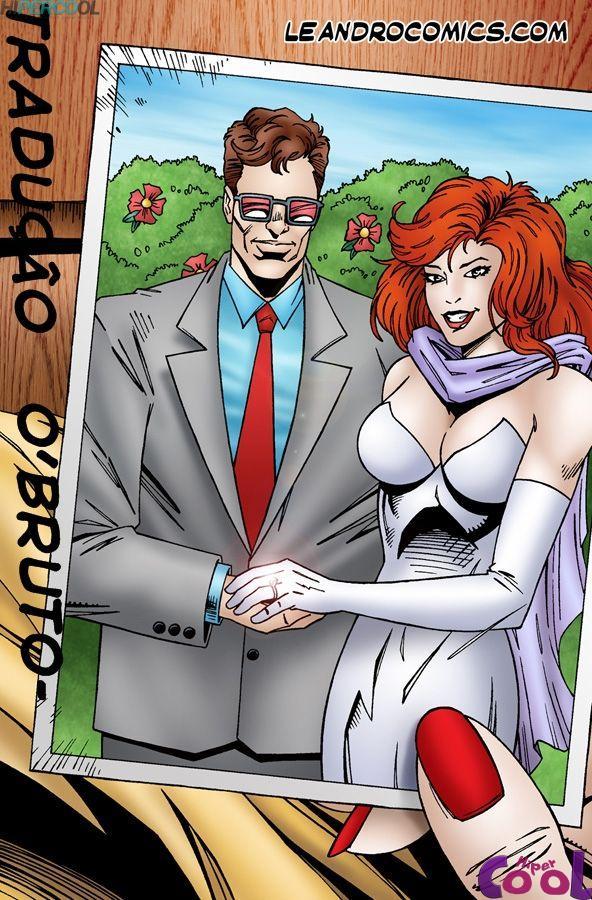 X-Men Pornô: Jean Grey com tesão - Foto 3