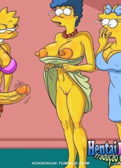 Meninas futanaris Simpsons