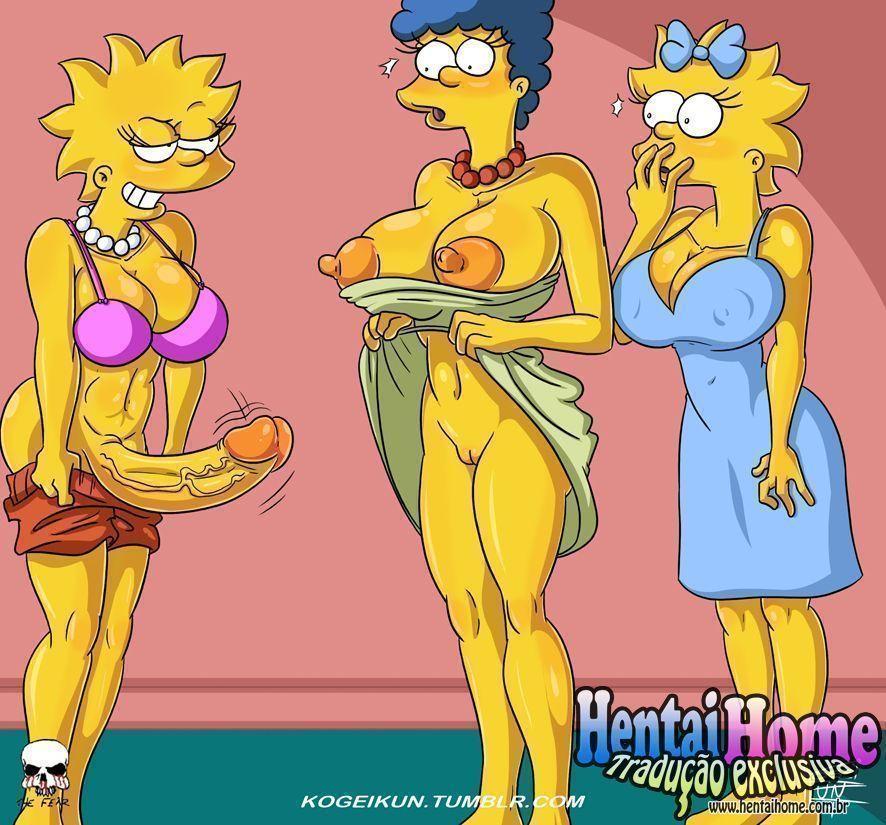 Meninas futanaris Simpsons - Foto 1