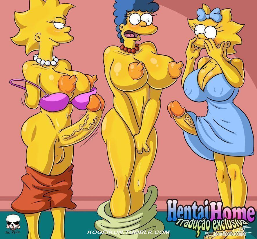 Meninas futanaris Simpsons - Foto 2