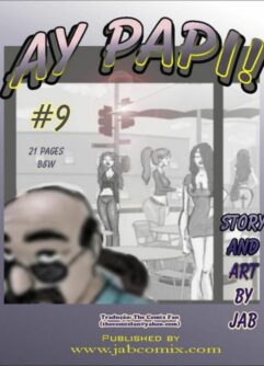 Quadrinhos de sexo: Ay Papi 09