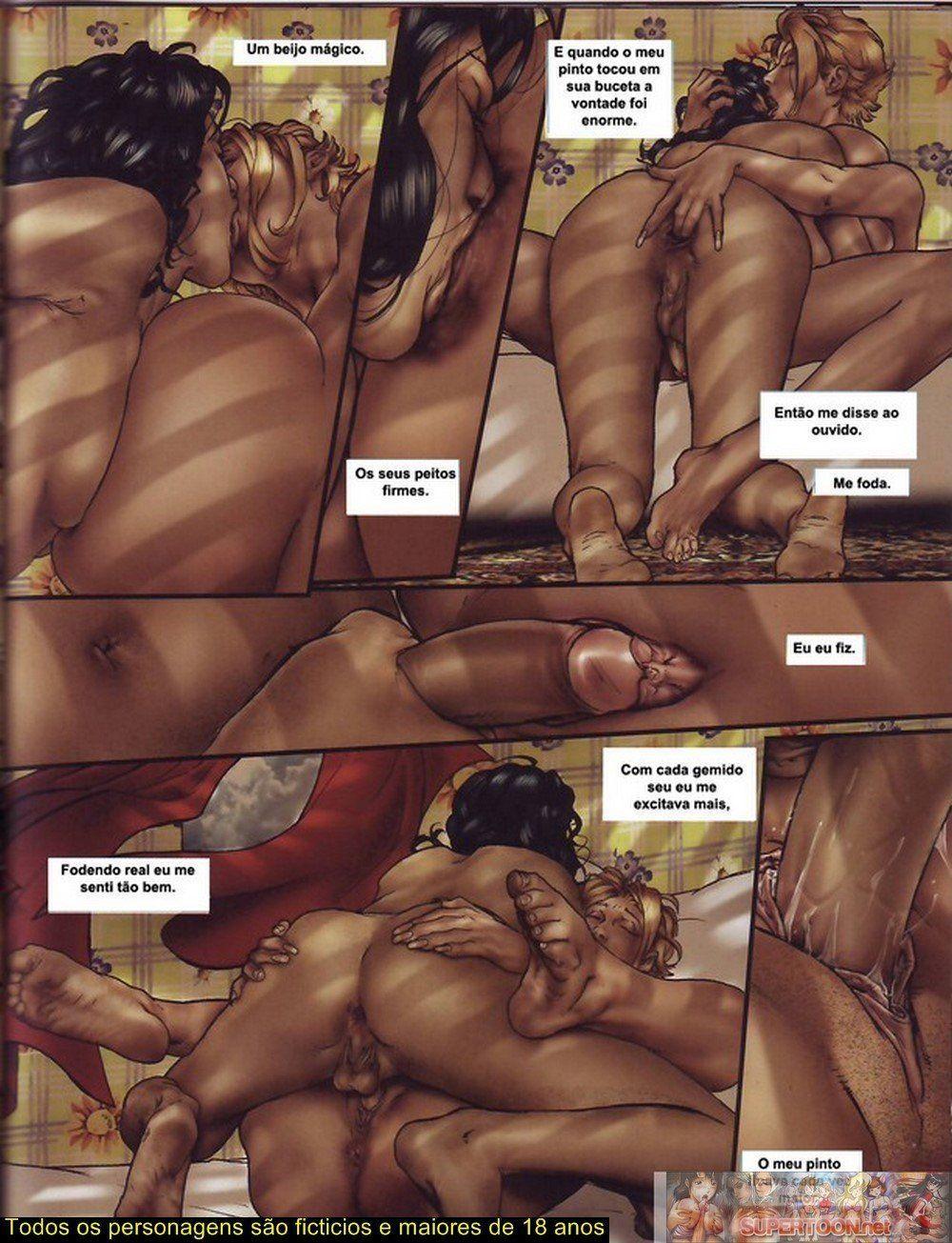 Quadrinhos de sexo tesão de transexual - Foto 4