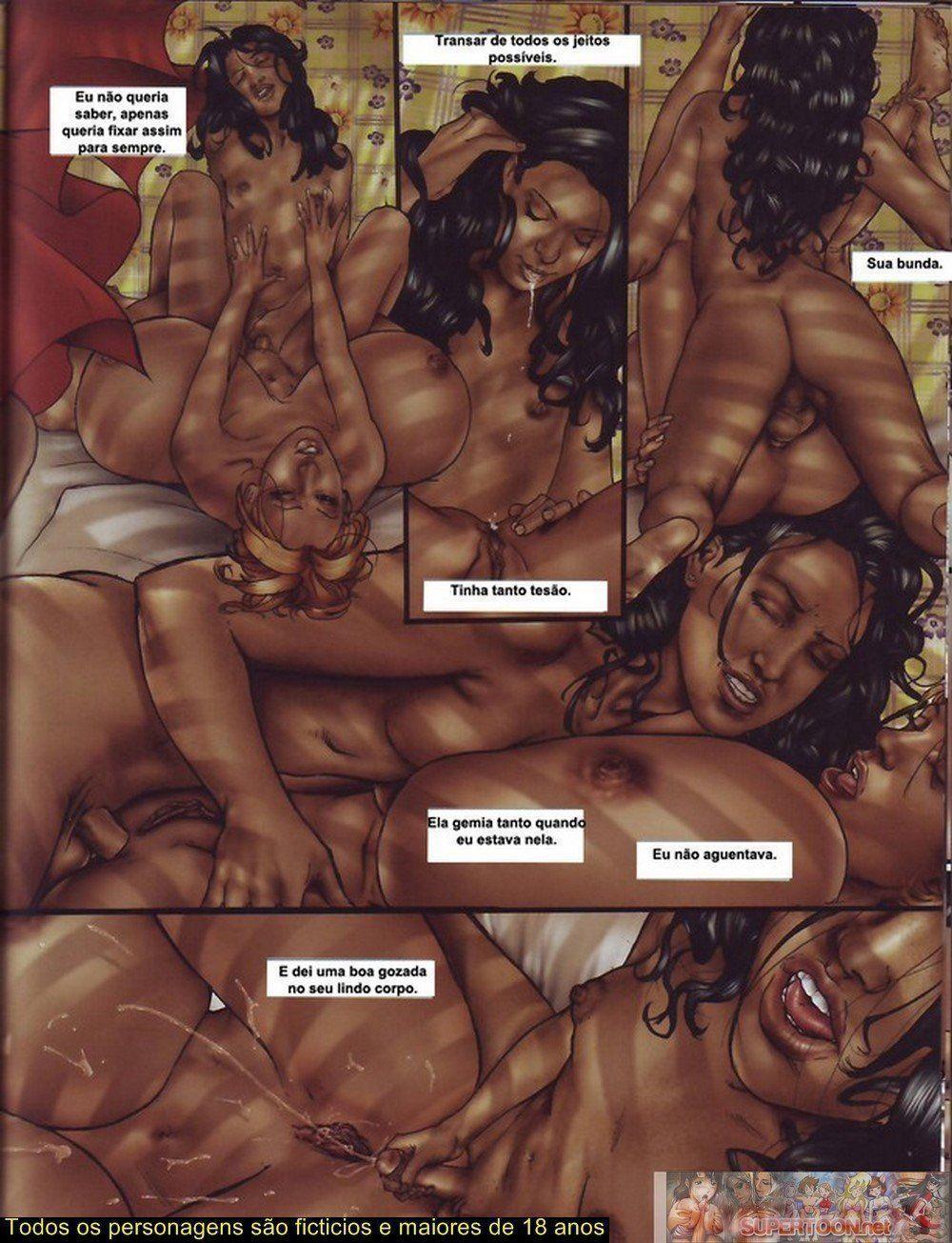 Quadrinhos de sexo tesão de transexual - Foto 6