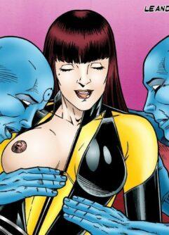 Watchmen quadrinhos de sexo