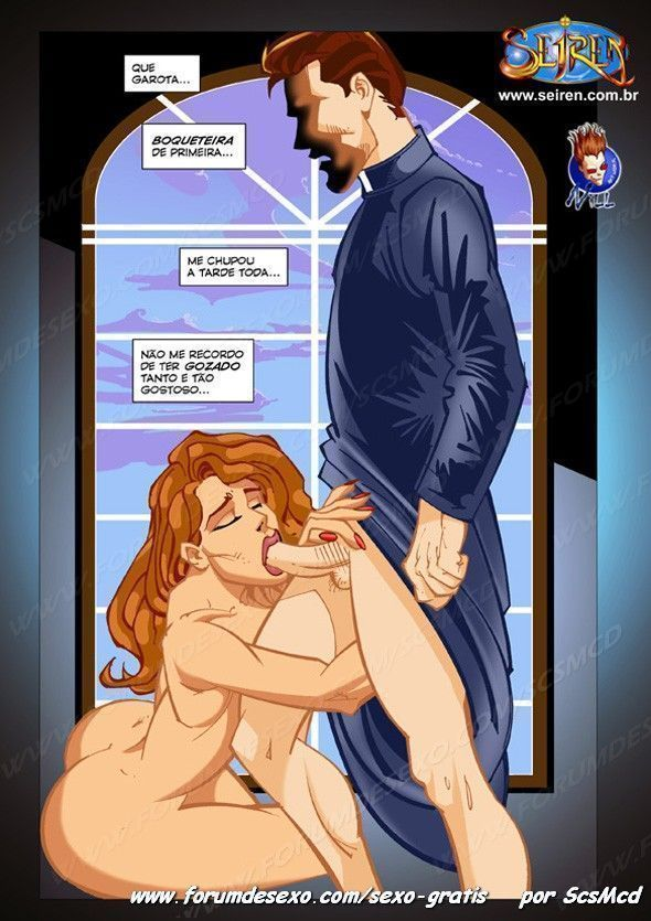 A tentação para um padre - Foto 13